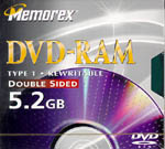 Memorex DVD-RAM Double Sided