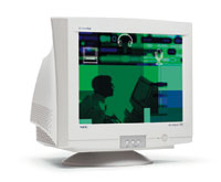 NEC AS75F Monitor White