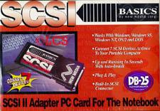 Basics SCSI II Adapter PC Card DB25