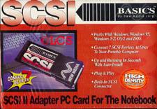Basics SCSI II Adapter PC Card HD50