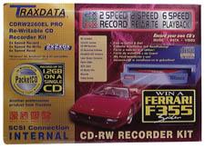 TraxData SCSI CDRW