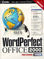 Corel WordPerfect 2000 Professional Suite